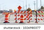 Orange Barrels  Barricades  An...