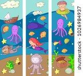 sea and ocean adventure... | Shutterstock .eps vector #1026984937