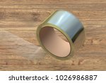 transparent adhesive tape roll... | Shutterstock . vector #1026986887