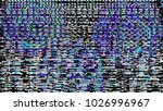 glitch background. computer... | Shutterstock . vector #1026996967