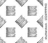 authentic black rough stripes... | Shutterstock .eps vector #1026999943