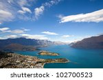 Landscape Of Queenstown With...