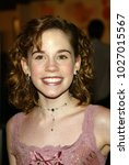 "Small photo of LOS ANGELES - APR 14: Christa Allen arrives to the ""13 Going on 30"" Los Angeles Premiere on April 14, 2004 in Westwood, CA"
