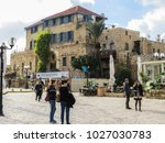 tel aviv  israel   january 2 ... | Shutterstock . vector #1027030783