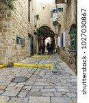 tel aviv  israel   january 2 ... | Shutterstock . vector #1027030867
