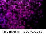 dark pink  blue vector low poly ... | Shutterstock .eps vector #1027072363