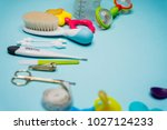 baby care things   Shutterstock . vector #1027124233