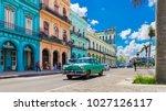 havana  cuba   september 14 ...   Shutterstock . vector #1027126117