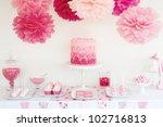 dessert table | Shutterstock . vector #102716813