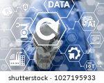 refresh industrial innovative...   Shutterstock . vector #1027195933