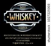 vector vintage black emblem...   Shutterstock .eps vector #1027225303