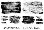 set of black ink vector stains   Shutterstock .eps vector #1027231633