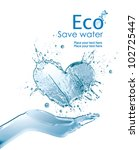 illustration environmentally... | Shutterstock . vector #102725447