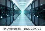 digital white earth network... | Shutterstock . vector #1027269733