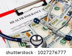 health insurance application... | Shutterstock . vector #1027276777