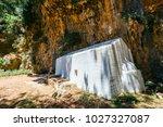 displaced village samaria in... | Shutterstock . vector #1027327087