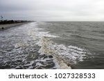 folly beach south carolina ... | Shutterstock . vector #1027328533
