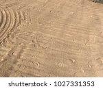 sand beach sea | Shutterstock . vector #1027331353