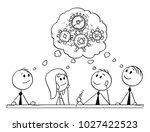 cartoon stick man drawing... | Shutterstock .eps vector #1027422523