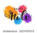 vector holiday illustration of... | Shutterstock .eps vector #1027437673