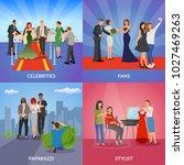 celebrity 2x2 design concept... | Shutterstock . vector #1027469263