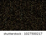 vector eps 10 golden confetti... | Shutterstock .eps vector #1027500217