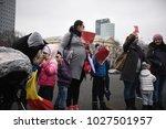 bucharest  romania   february... | Shutterstock . vector #1027501957