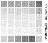 36 seamless pattern of ink hand ... | Shutterstock .eps vector #1027504477