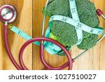 the concept of health care... | Shutterstock . vector #1027510027