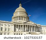 united states capitol building  ... | Shutterstock . vector #1027533157