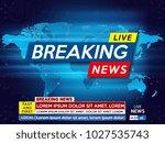 background screen saver on... | Shutterstock .eps vector #1027535743