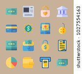icons banking with credit card  ... | Shutterstock .eps vector #1027554163
