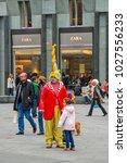 vienna  austria   october 30 ... | Shutterstock . vector #1027556233