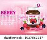 berries dietary supplement... | Shutterstock .eps vector #1027562317