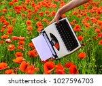 opium poppy  agile business ...   Shutterstock . vector #1027596703