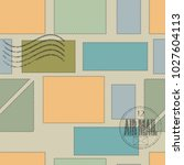 vector seamless pattern.... | Shutterstock .eps vector #1027604113