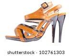 Stylish Woman's Opened Shoe...