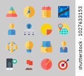 icons about business with... | Shutterstock .eps vector #1027633153
