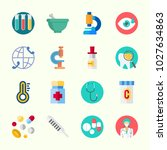 icons about medical with... | Shutterstock .eps vector #1027634863