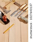 diy concept. woodworking and...   Shutterstock . vector #1027643137