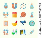 icons about science with open... | Shutterstock .eps vector #1027646293