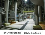 stainless steel brewing... | Shutterstock . vector #1027662133