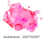 colorful abstract watercolor... | Shutterstock .eps vector #1027722337