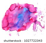 colorful abstract watercolor... | Shutterstock .eps vector #1027722343