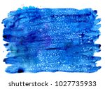 colorful abstract watercolor... | Shutterstock .eps vector #1027735933