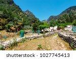 displaced village samaria in... | Shutterstock . vector #1027745413