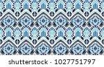 ikat geometric folklore...   Shutterstock .eps vector #1027751797