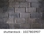 brick wall texture old vintage... | Shutterstock . vector #1027803907