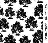 seamless pattern  lilac bush... | Shutterstock . vector #1027911547