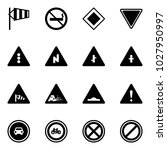 solid vector icon set   side... | Shutterstock .eps vector #1027950997